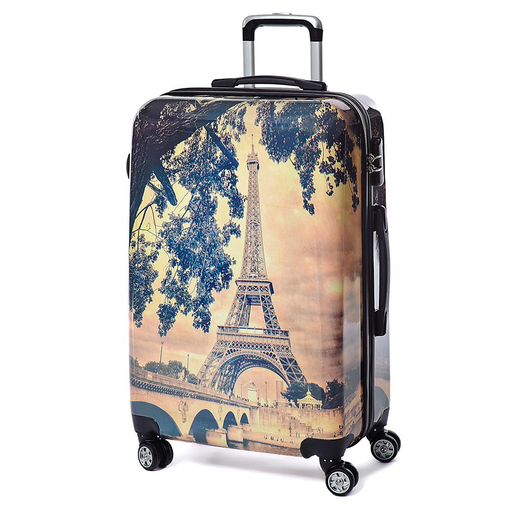Чемоданы на колесах париж где можно купить рюкзаки в москве